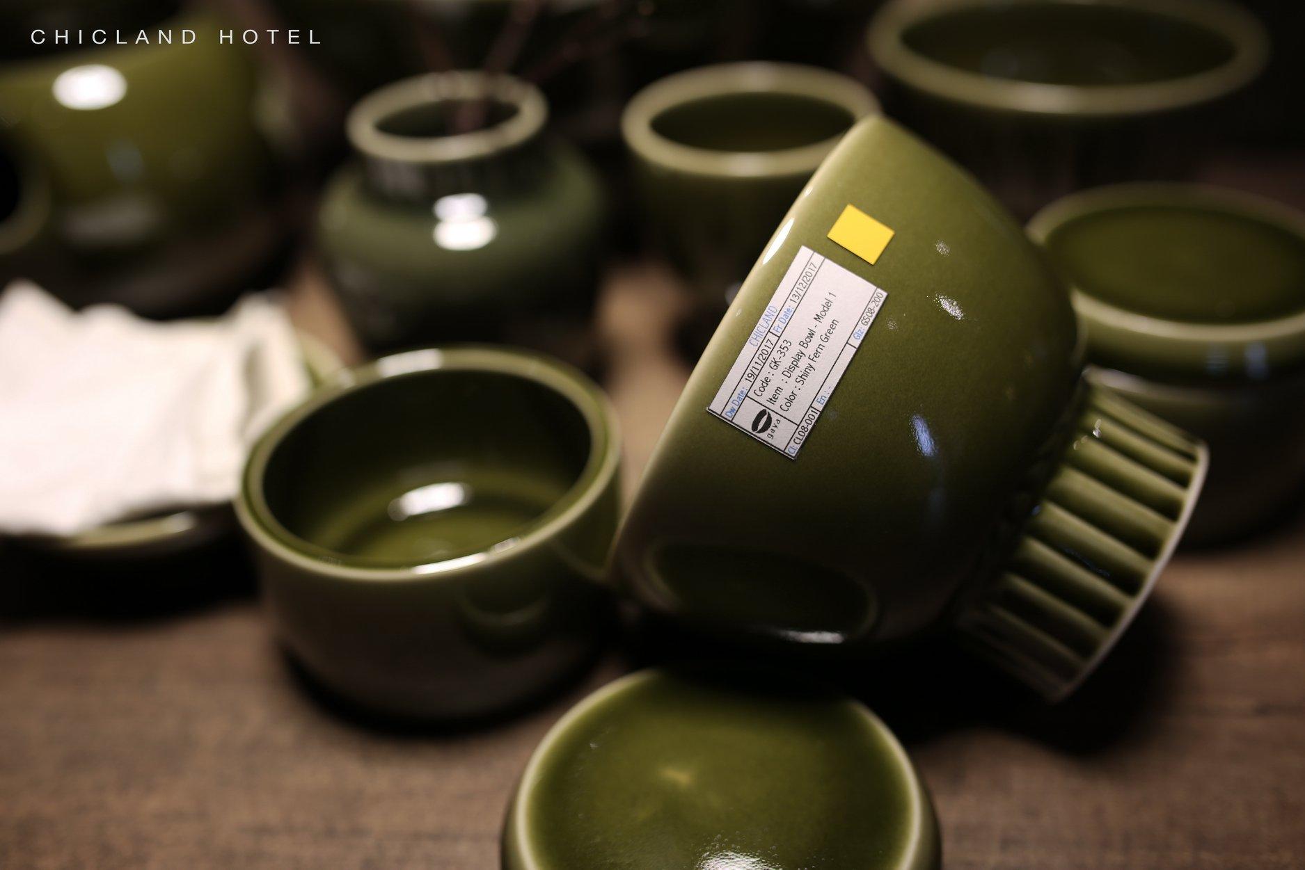 bowl ceramics - CHICLAND hotel