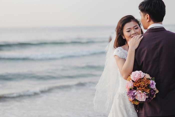 Wedding photo at Son Tra Peninsula - CHICLAND hotel