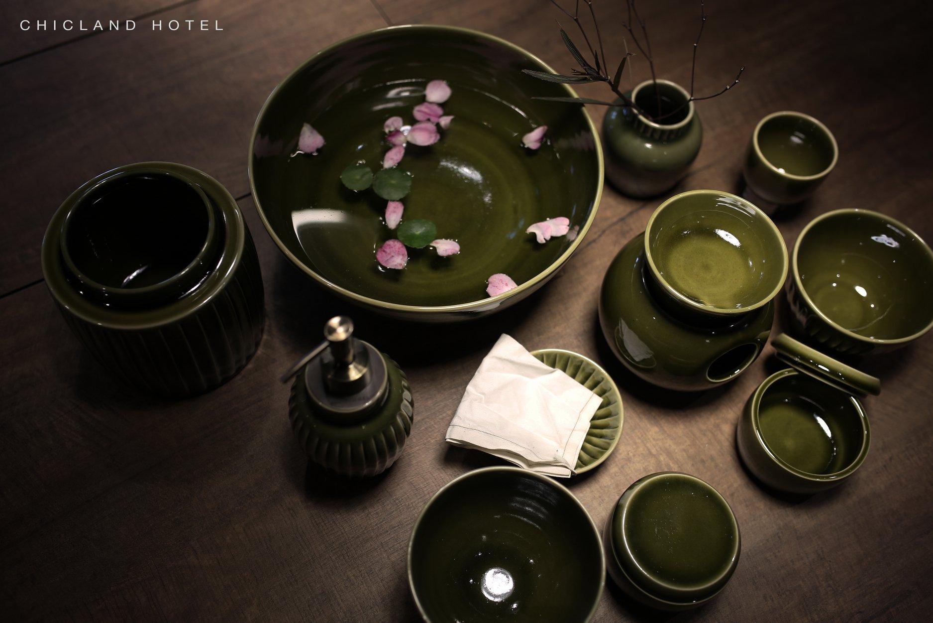 ceramics - CHICLAND hotel