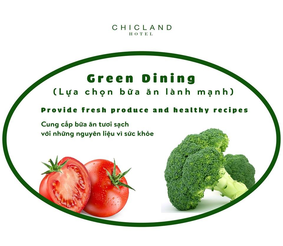 green dining - CHICLAND hotel