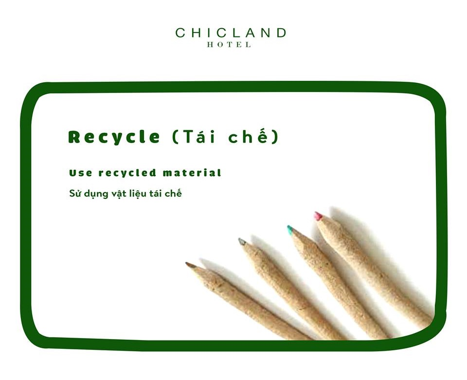 recycle - CHICLAND hotel