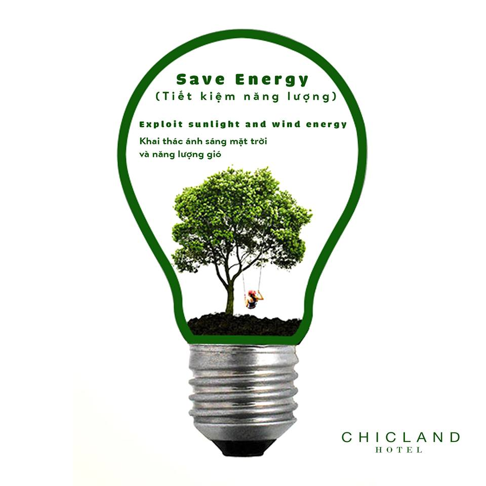 save energy - CHICLAND hotel